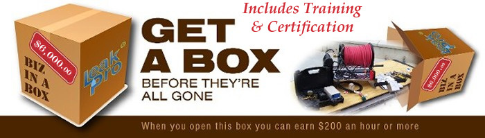 Leak Pro Training Business in a Box.